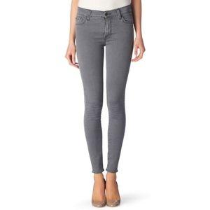 7FAMK Gwenevere gray skinny jeans - size 28